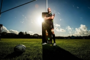 Editorial portrait of rugby player George Robson