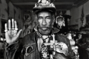 Lee Scratch Perry, Switzerland 1998.