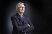 Louis Walsh photographed for Specsavers