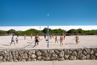 Volleyball, South Beach Miami.