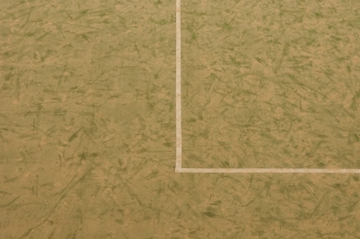 An all weather football pitch photographed for my book Esoteric London
